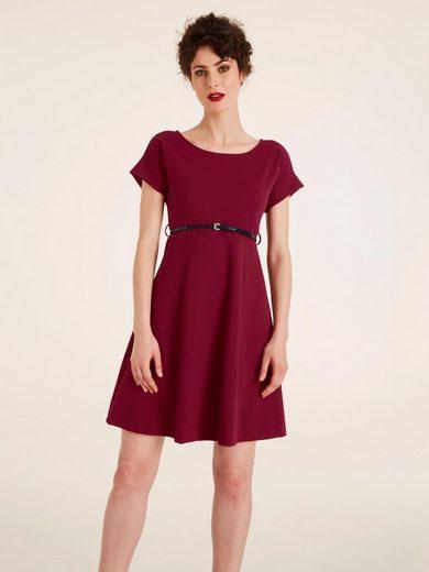 heine TIMELESS Kleid mit Gürtel und Rückenausschnitt ...