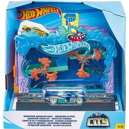 Mattel® Hot Wheels City Spielset: Aquarium Set