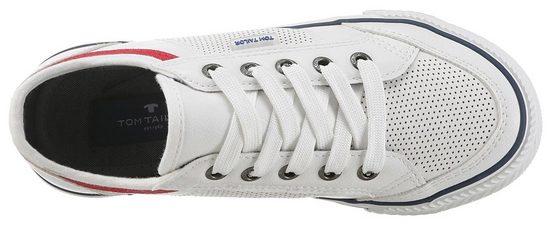 TOM TAILOR Sneaker mit Perforation