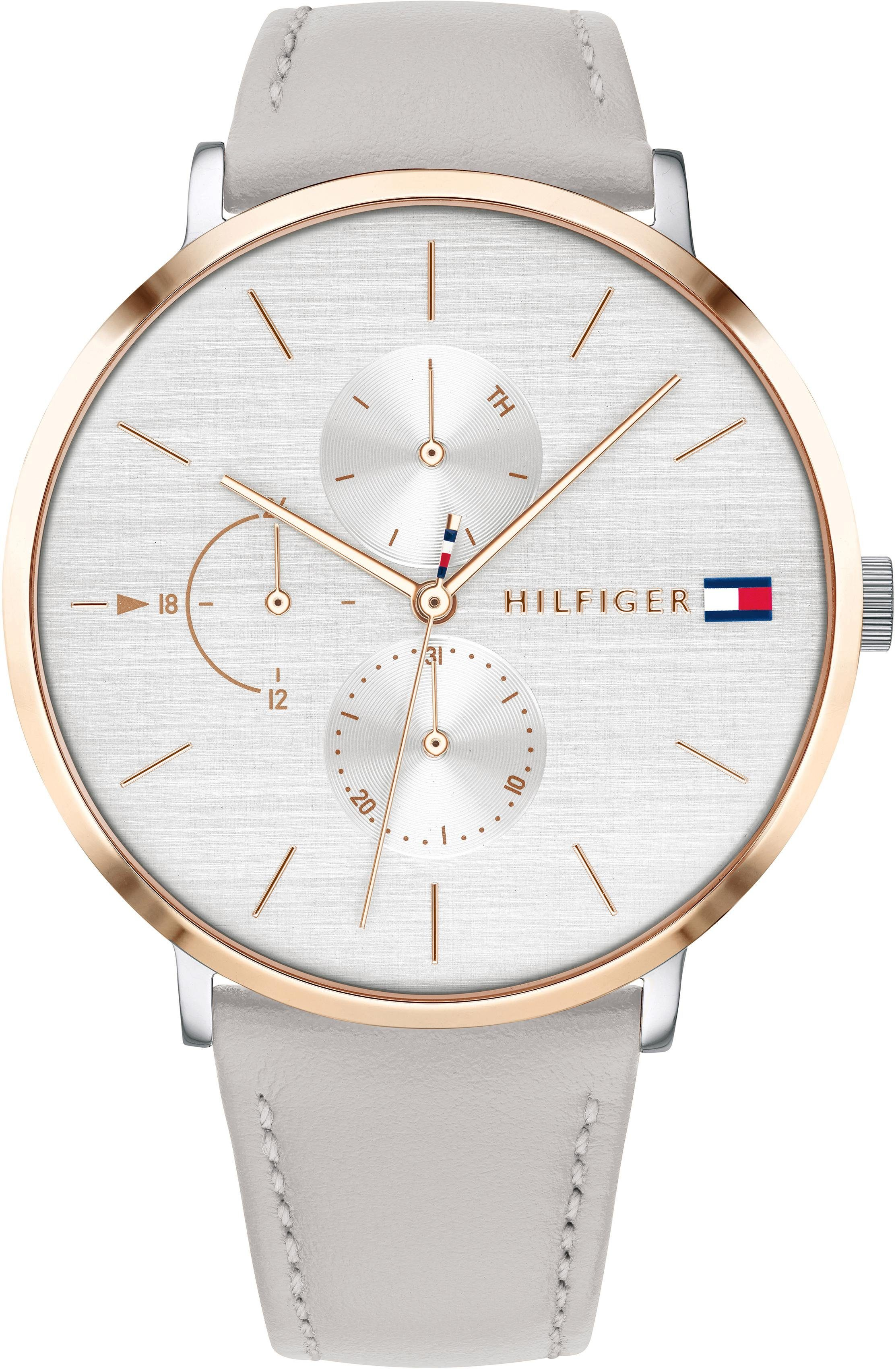 TOMMY HILFIGER Multifunktionsuhr »CASUAL, 1781946«