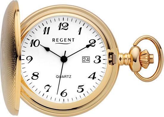 Regent Taschenuhr »11370102«, (Set, 2-tlg., inkl. Kette)