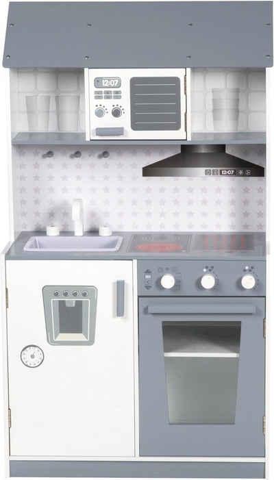 roba® Spielküche »WeißGrau« Holz, aus Holz