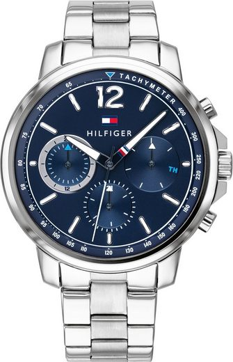 TOMMY HILFIGER Multifunktionsuhr »CASUAL, 1791534«