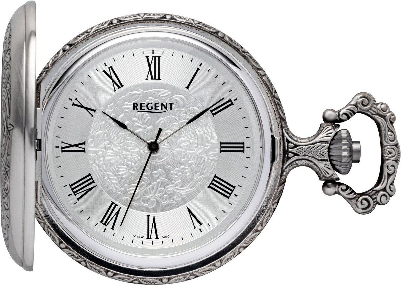 Regent Taschenuhr »11340133« (Set, 2 tlg., inkl. Kette) | Uhren > Taschenuhren | Regent