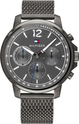 TOMMY HILFIGER Multifunktionsuhr »CASUAL, 1791530«