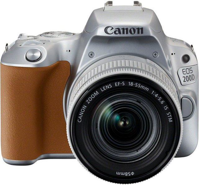 Spiegelreflexkameras - Canon »EOS 200D EF S 18 55mm 1 4 5,6 IS STM« Spiegelreflexkamera (EF S 18 55mm 1 4 5,6 IS STM, 24,2 MP, NFC, WLAN (Wi Fi), Bluetooth)  - Onlineshop OTTO