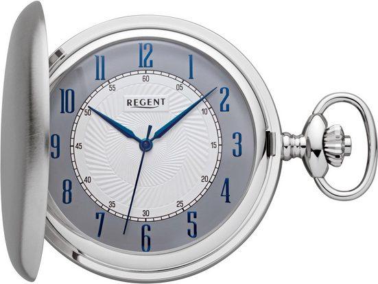 Regent Taschenuhr »11380111«, (Set, 2-tlg., inkl. Kette)