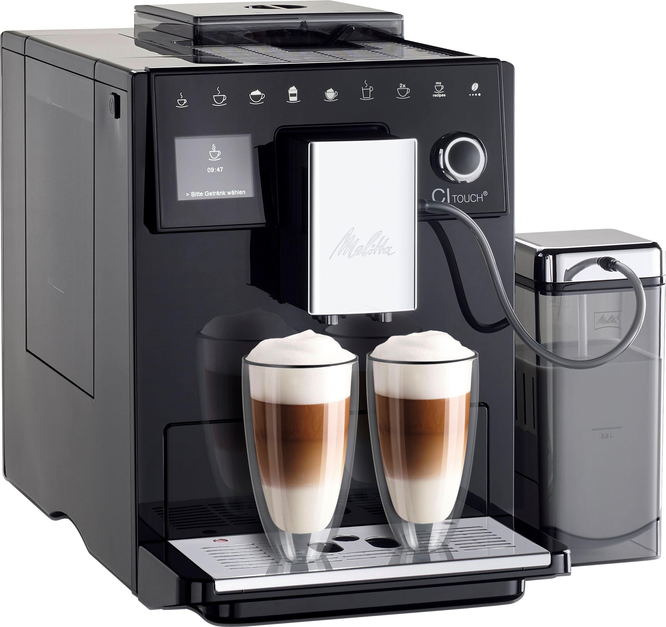 Kaffeevollautomat ® CI Touch® F 630-102, schwarz, Vielfältiger Kaffeegenuss durch insgesamt 10 Kaffeevariationen