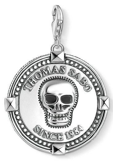 THOMAS SABO Charm-Einhänger »Coin Totenkopf, 1698-637-21«