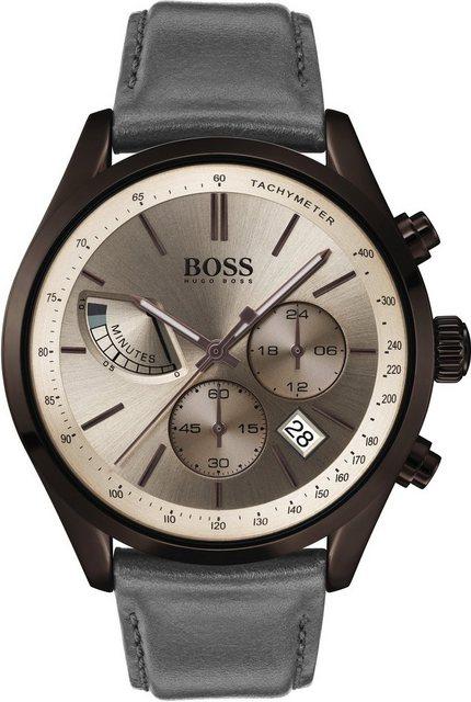 Herren Boss Chronograph GRAND PRIX 1513603 grau   07613272296458