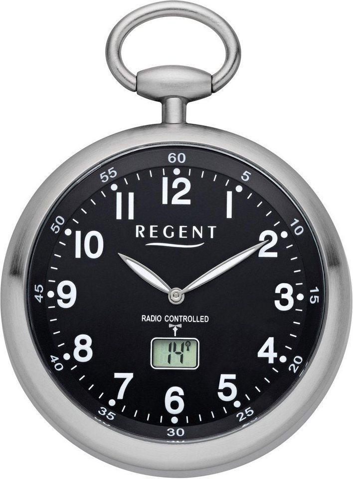 Regent Taschenuhr »11280077« (Set, 2 tlg., inkl. Kette) mit Funkempfang in Europa | Uhren > Taschenuhren | Regent