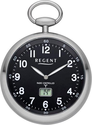 Regent Taschenuhr »11280077«, (Set, 2-tlg., inkl. Kette), mit Funkempfang in Europa