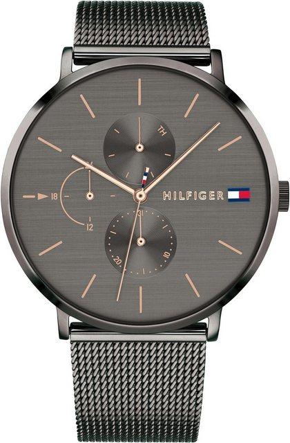 TOMMY HILFIGER Multifunktionsuhr »CASUAL, 1781945« | Uhren > Multifunktionsuhren | Grau | TOMMY HILFIGER