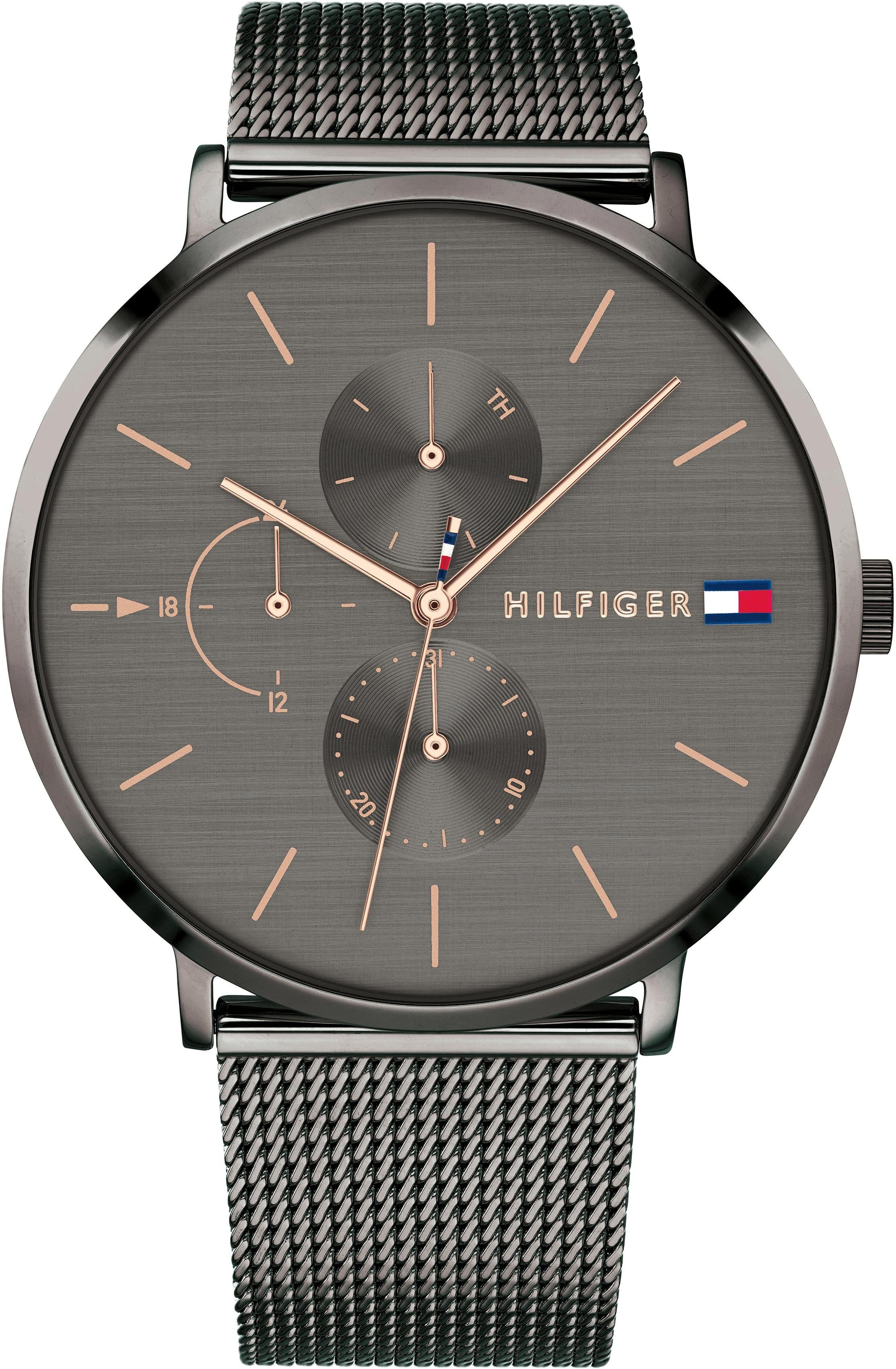 TOMMY HILFIGER Multifunktionsuhr »CASUAL, 1781945«