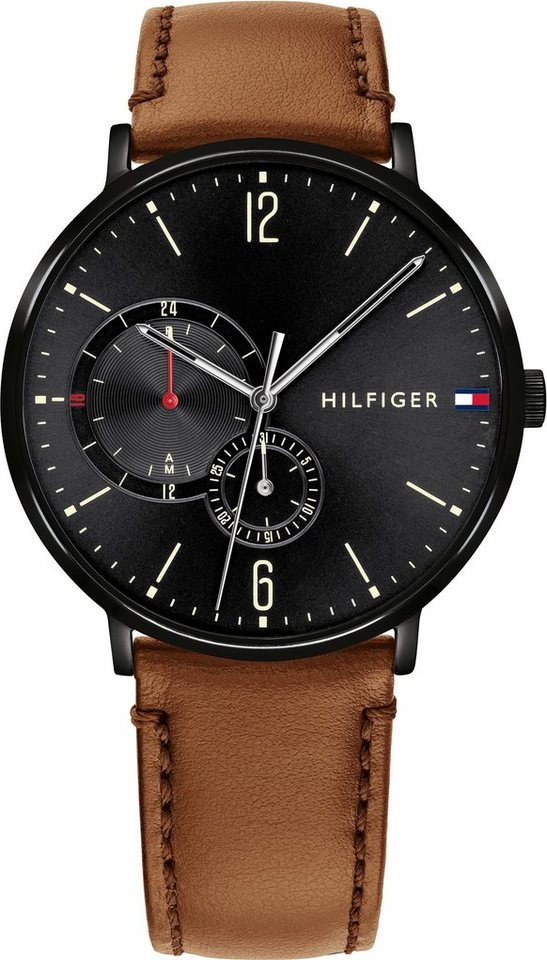 TOMMY HILFIGER Multifunktionsuhr »CASUAL, 1791510«