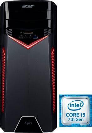 Acer Aspire GX-781 Gaming-PC (Intel Core i5, GTX 1050, 8 GB RAM, 2000 GB HDD)