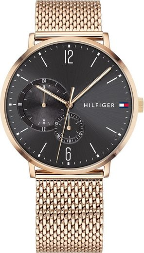 TOMMY HILFIGER Multifunktionsuhr »CASUAL, 1791506«