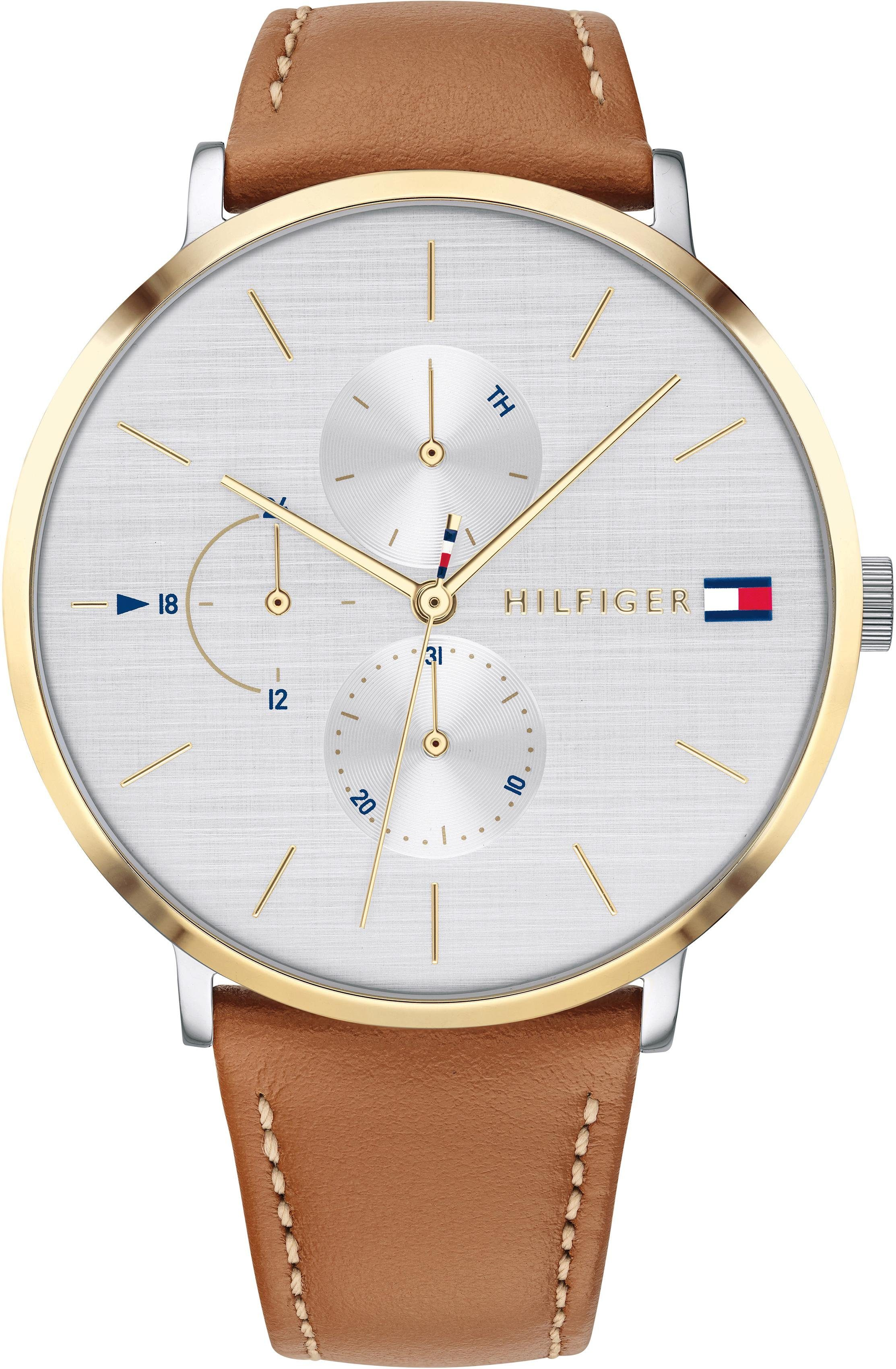 TOMMY HILFIGER Multifunktionsuhr »CASUAL, 1781947«