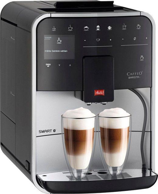 Melitta Kaffeevollautomat CAFFEO Barista T Smart F831-101, silberfarben