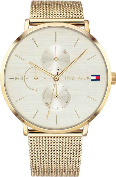 a1844a17a8f8 TOMMY HILFIGER Multifunktionsuhr »CASUAL, 1781943«