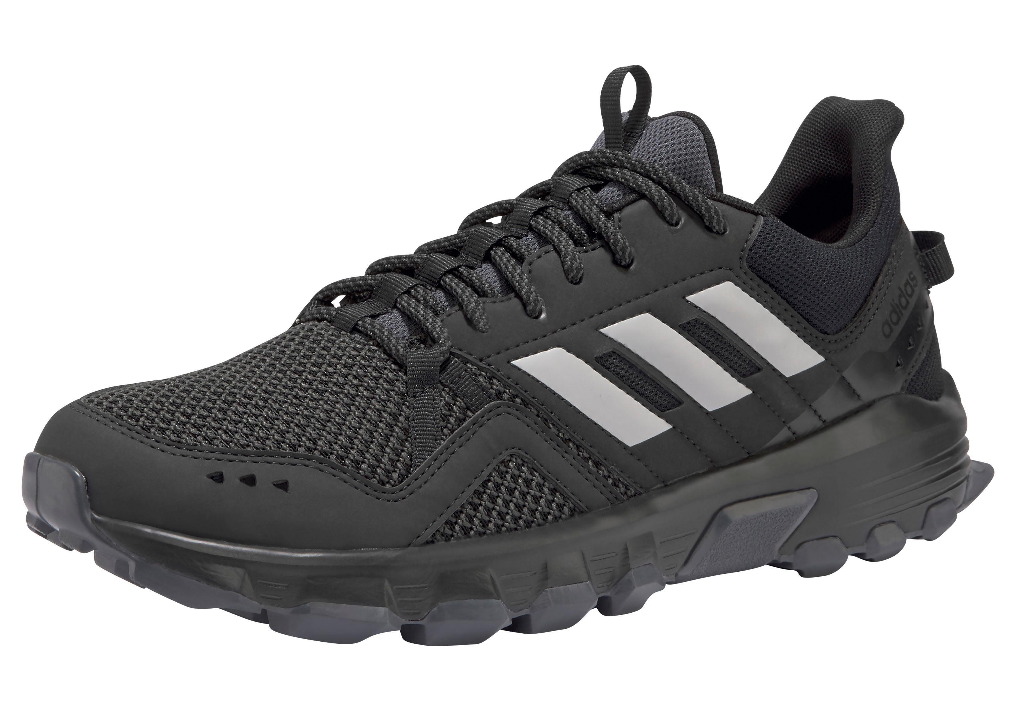 adidas Laufschuh Rockadia Trail M schwarz weiß Textil