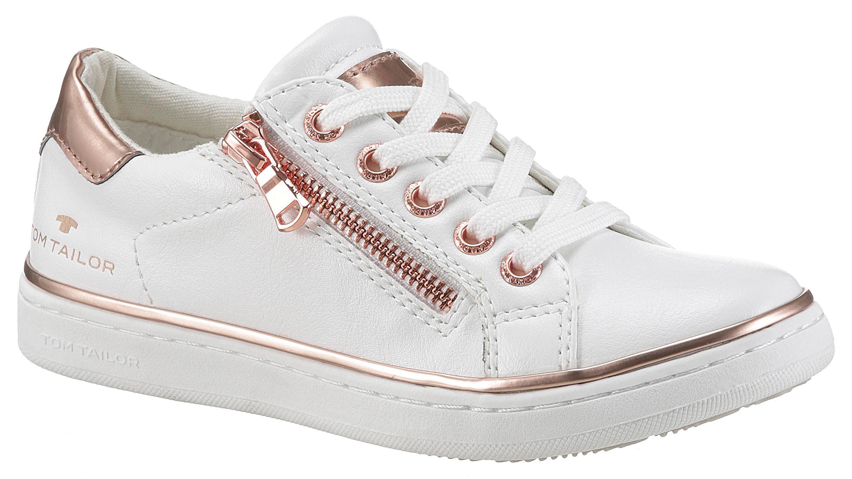 Sneaker Details KaufenOtto Tom Tailor Mit Metallischen xrBodeC