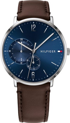 TOMMY HILFIGER Multifunktionsuhr »CASUAL, 1791508«