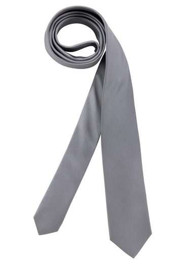 OLYMP Krawatte Mit feiner Struktur, aus reiner Seide