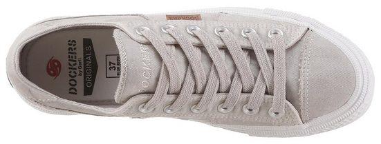 Mit Dezenter Gerli By Dockers Sneaker Ziersteppung RqCtw0w