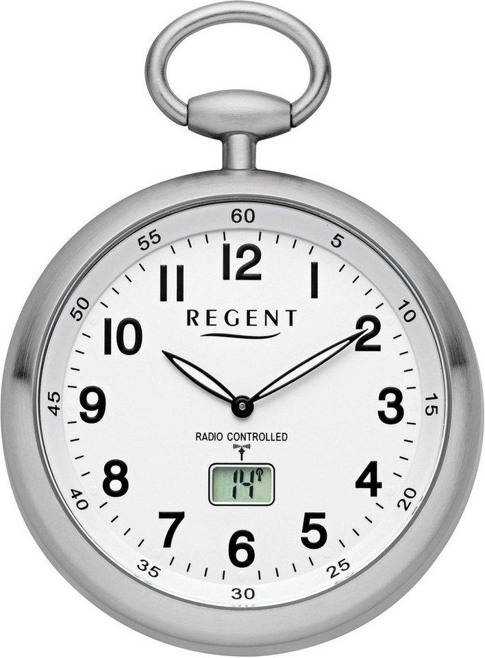 Regent Taschenuhr »11280076« (Set, 2 tlg., inkl. Kette) mit Funkempfang in Europa | Uhren > Taschenuhren | Regent