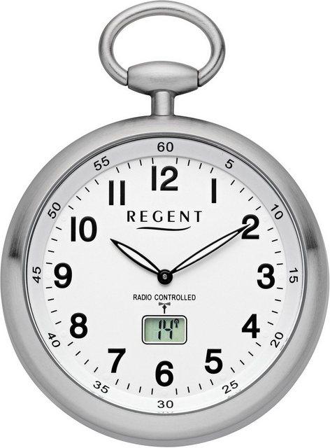 Regent Taschenuhr »11280076«, (Set, 2-tlg., inkl. Kette), mit Funkempfang in Europa   Uhren > Taschenuhren   Regent