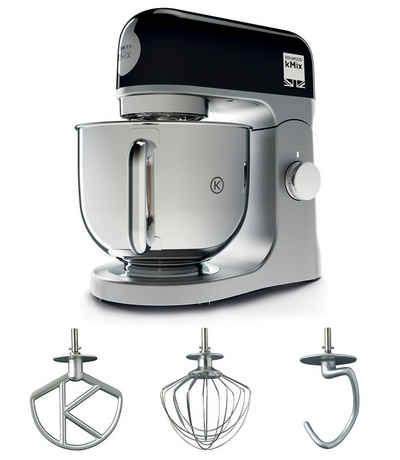 KENWOOD Küchenmaschine kMix KMX 750BK, 1000 W, 5 l Schüssel, inkl. 3-tlg. Patisserie-Set und 5l Schüssel