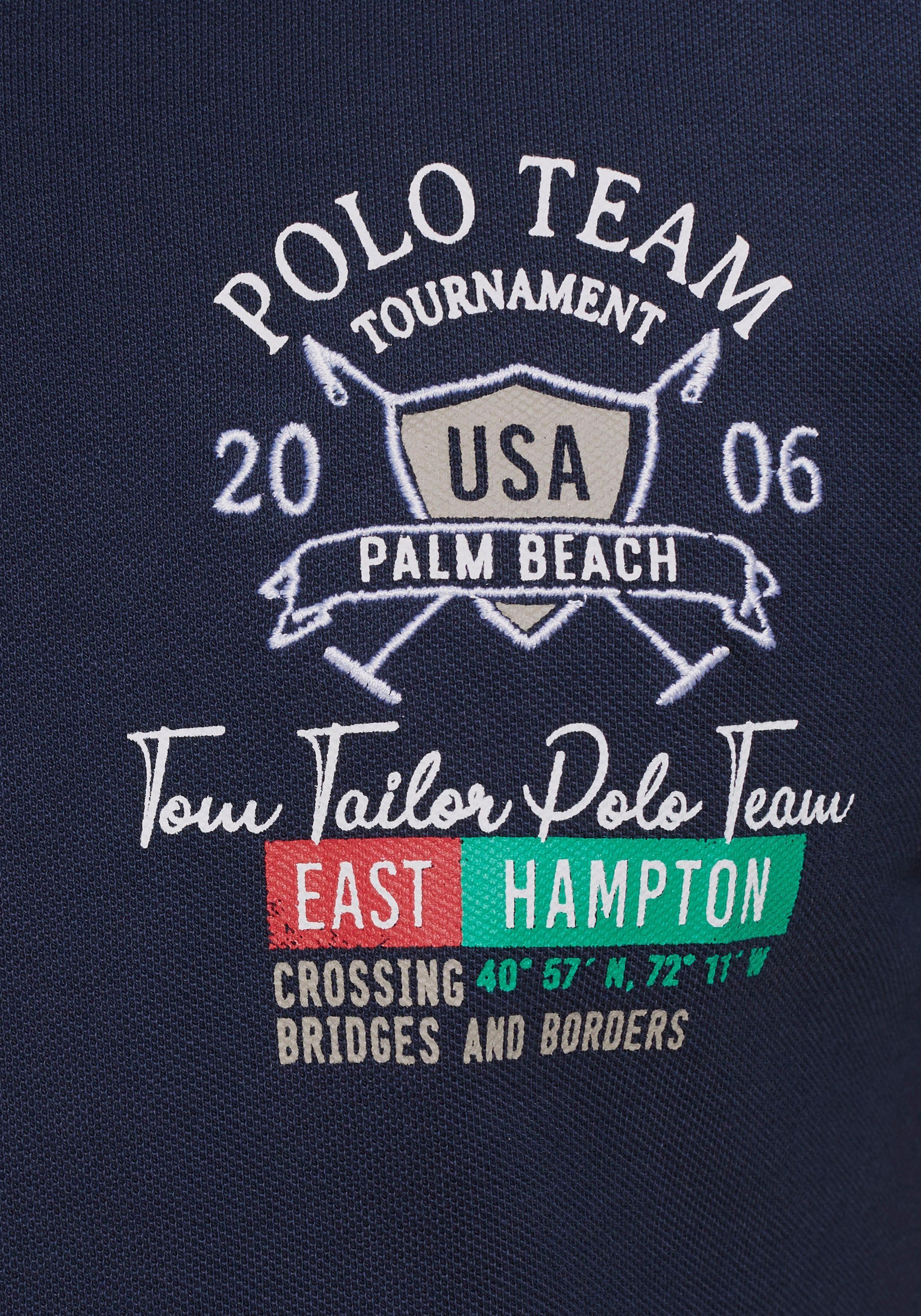 Team Poloshirt Details Aufwendigen Tailor Tom Mit Polo ECxAx6q