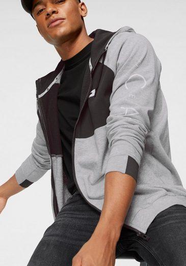 Ocean Sportswear Kapuzensweatjacke mit hoch schließendem Kragen