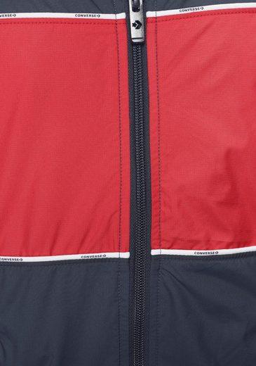 Windabweisend »woven Converse Jacket« Windbreaker Track wPxITq0
