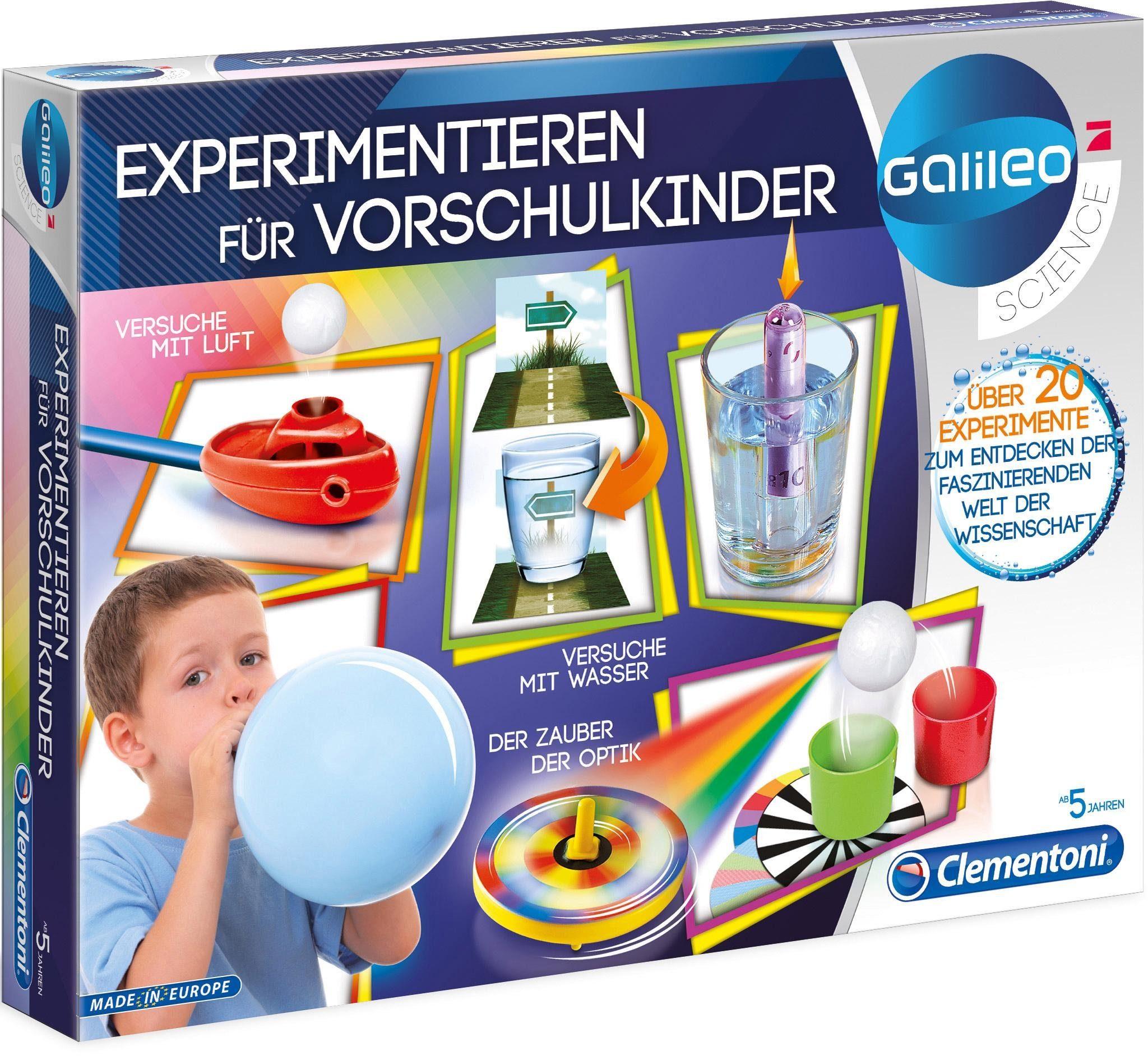 Experimentier-Set, »Galileo - Experimentieren für Vorschulkinder«, Clementoni