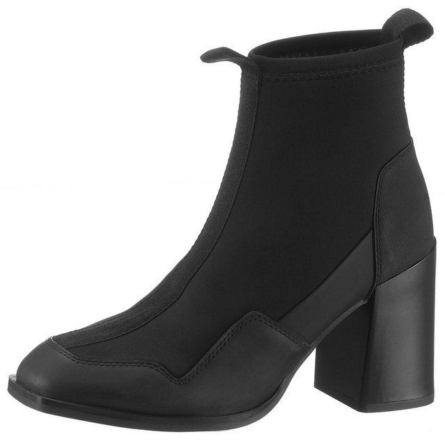Damen G-Star RAW Gepson Sock Boot Stiefelette mit Anziehlaschen schwarz | 08719369846229