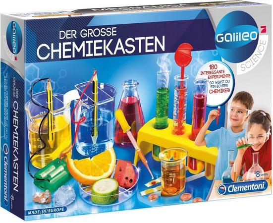 Clementoni® Experimentierkasten »Der große Chemiekasten«