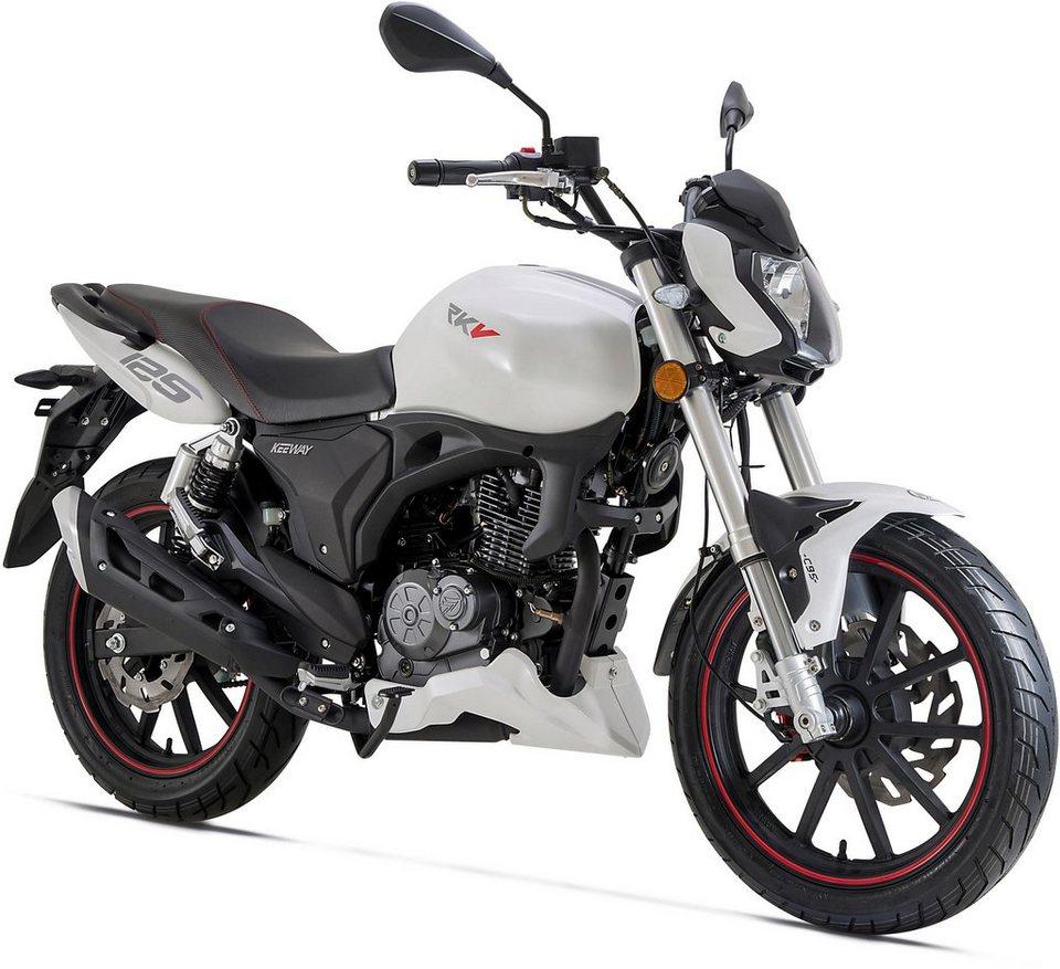 keeway motor motorrad rkv 125 facelift 125 ccm 95 km h. Black Bedroom Furniture Sets. Home Design Ideas