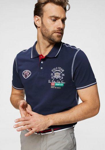 TOM TAILOR Polo Team Poloshirt mit aufwendigen Details