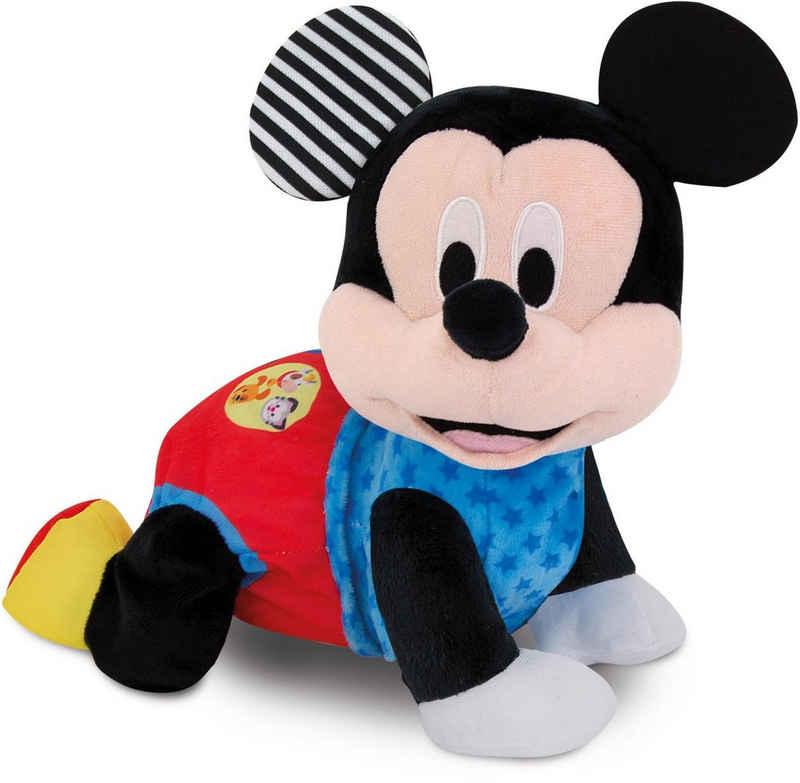 Clementoni® Plüschfigur »Baby Clementoni - Krabbelnder Baby Mickey«, mit Soundeffekten