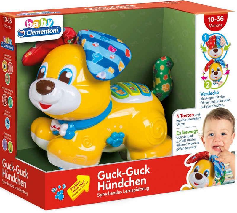 Clementoni® Spielfigur »Baby Clementoni - Baby, Guck-Guck Hündchen«