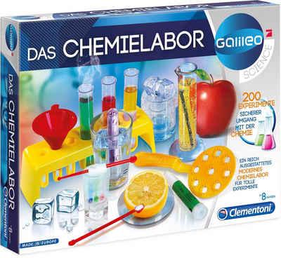 Clementoni® Experimentierkasten »Galileo Das Chemielabor«, Made in Europe