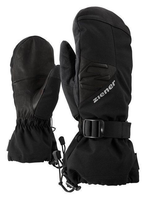 Ziener Fäustlinge »GOFRIEDO AS(R) AW MITTEN« | Accessoires > Handschuhe > Fäustlinge | Schwarz | Ziener