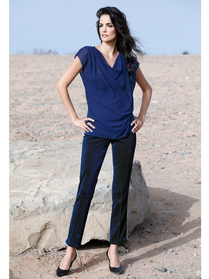 Amy Vermont Steghose mit modischem Streifen am Bein