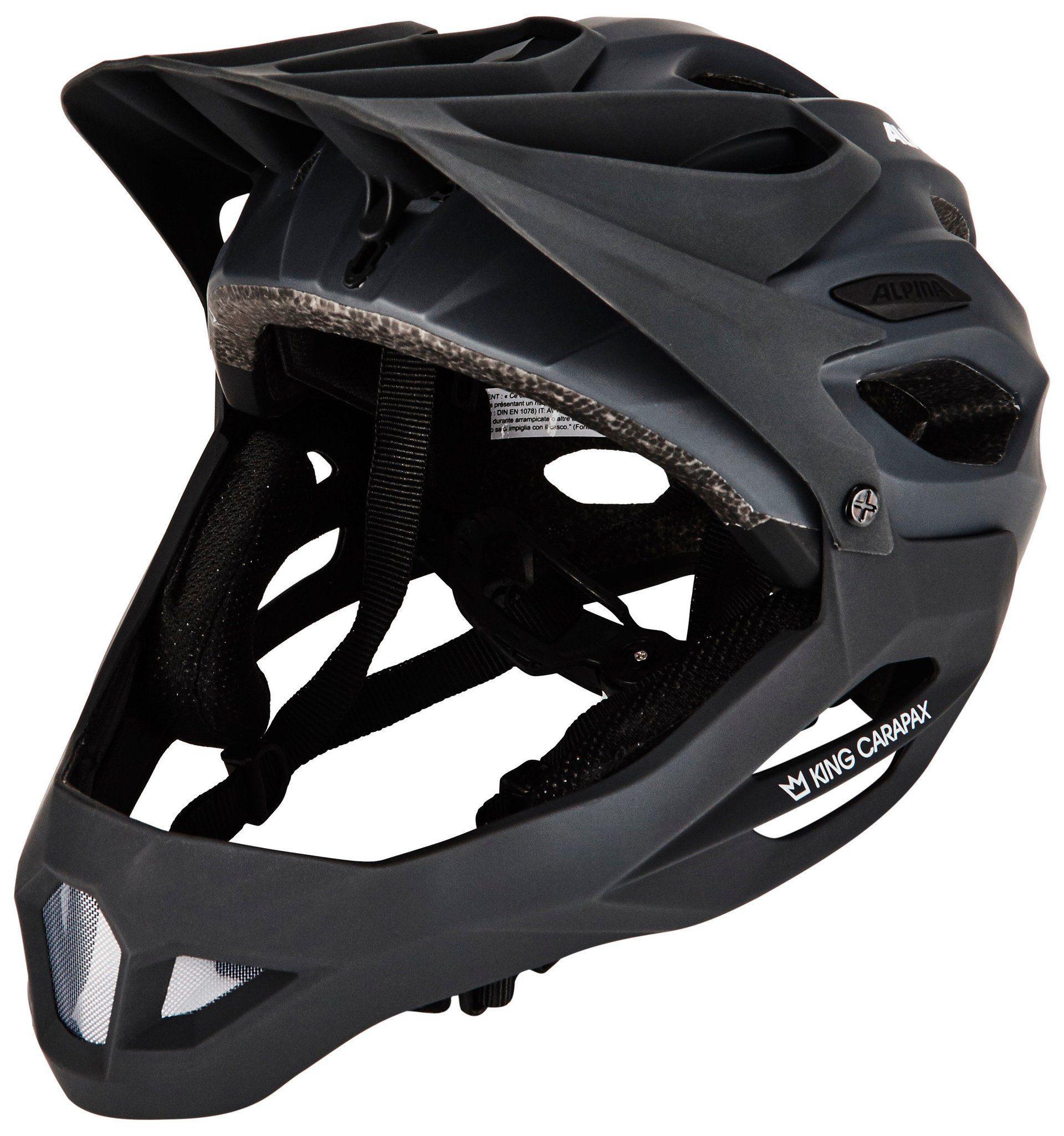 Alpina Sports Fahrradhelm »King Carapax Fullface Helmet«