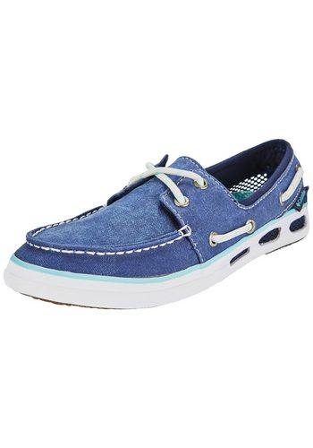 Damen Columbia Freizeitschuh Vulc N Vent Boat Canvas Shoes Women blau   00888458924945