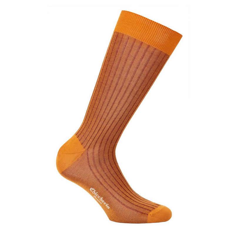 Chiccheria Brand Socken (1 Paar) aus Baumwolle, mehrfarbig, Made in Italy by Bresciani