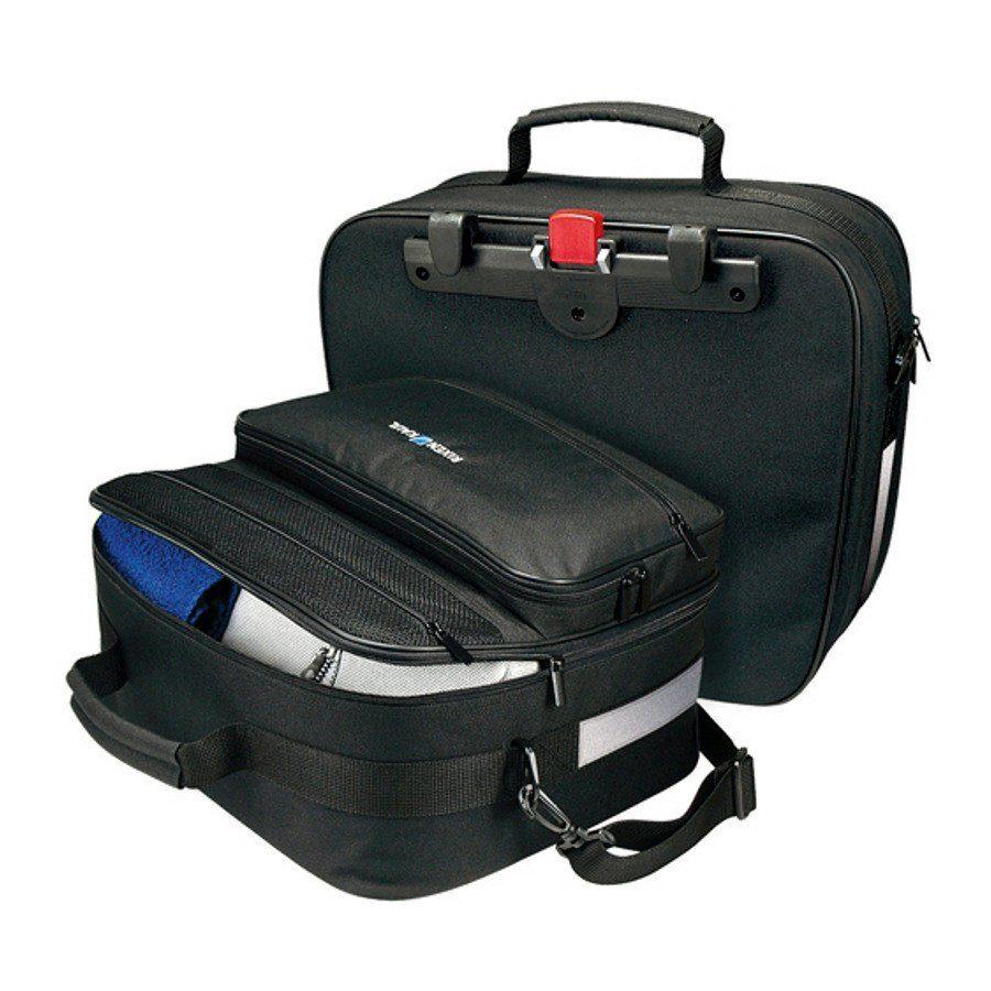 KlickFix Gepäckträgertasche »Travelbag Universal Gepäckträgertasche schwarz«