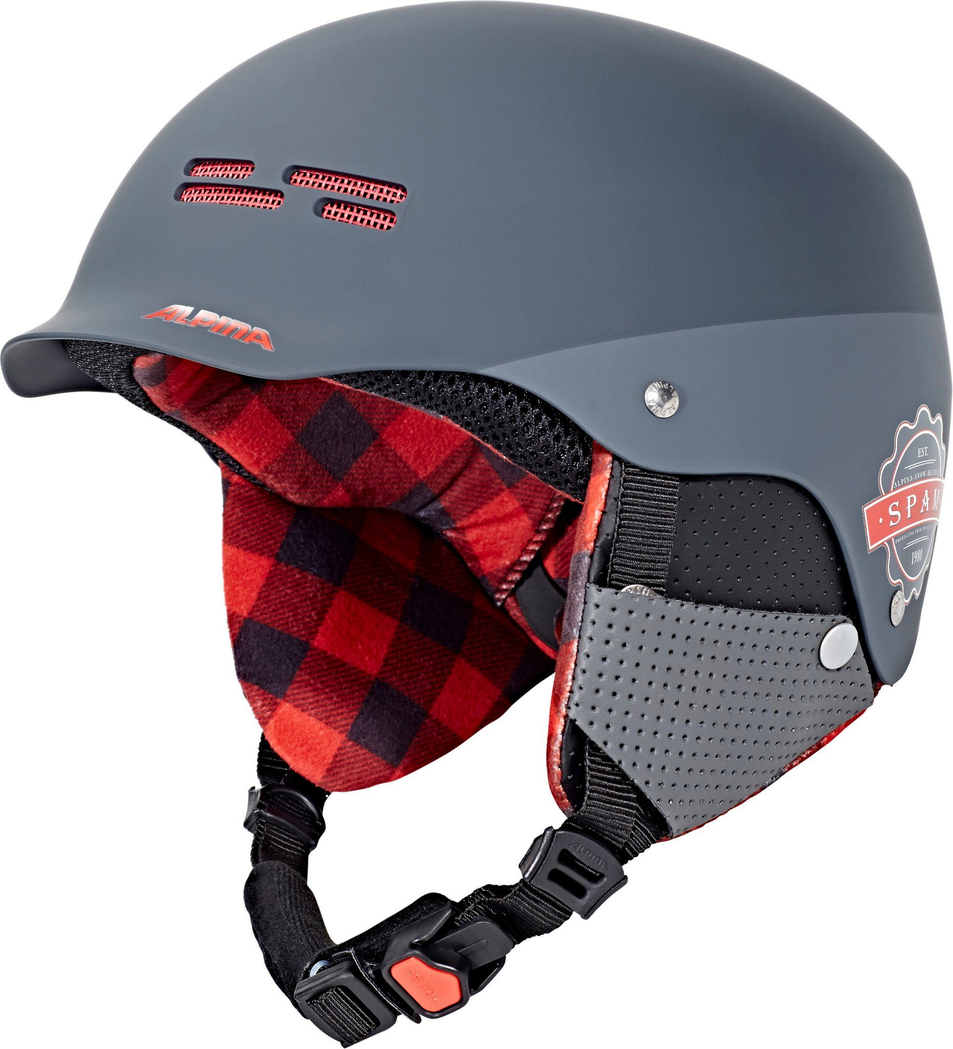 Alpina Sports Ski - / Snowboardhelm »Spam Cap Helmet Junior«
